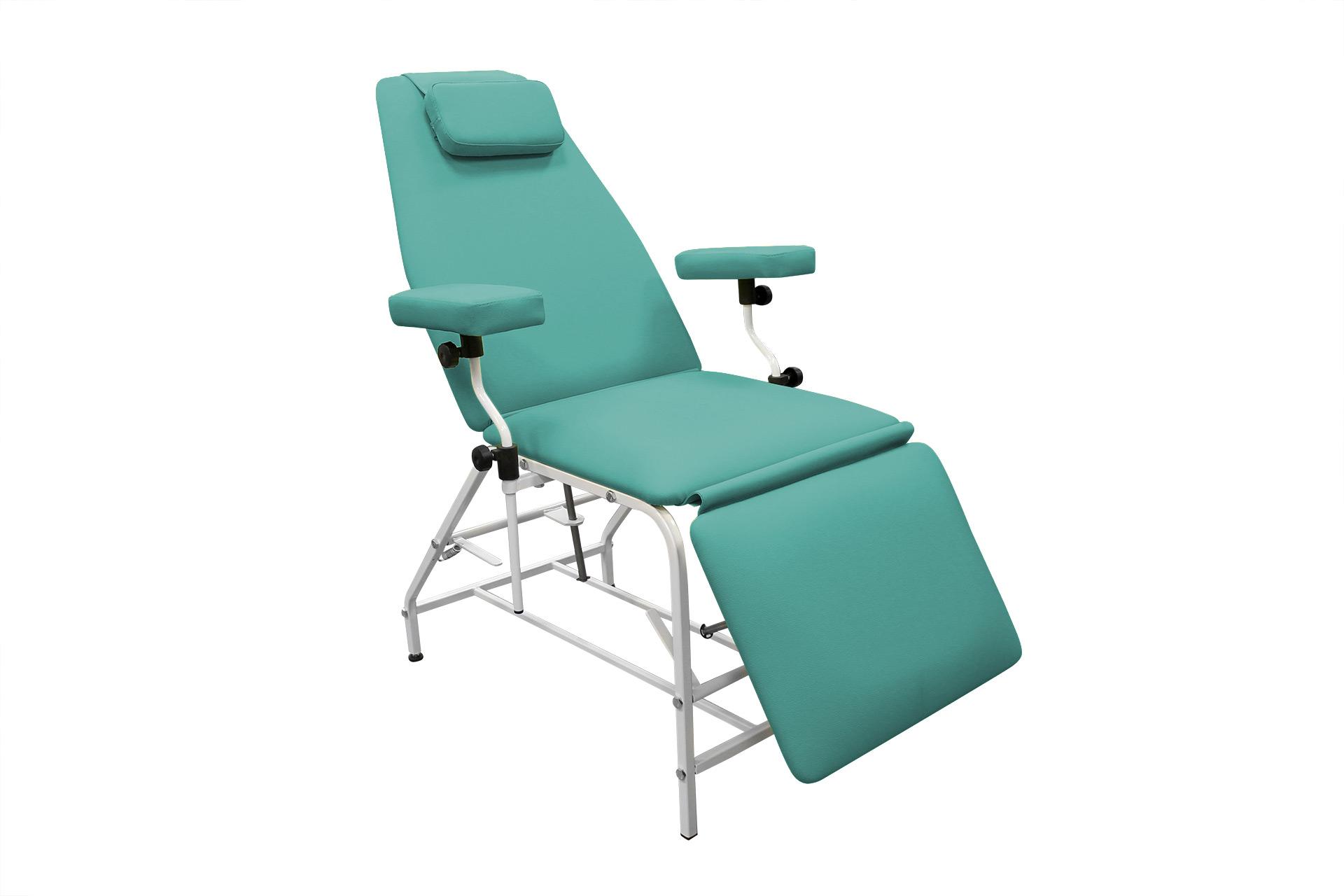 Кресло с подлокотником для забора венозной крови и внутривенных инъекций - донорское кресло