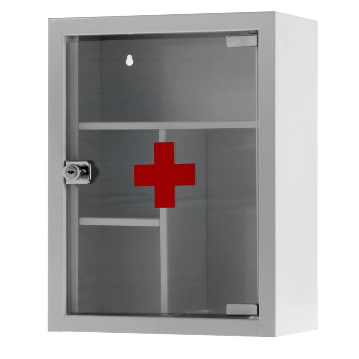 Шкаф для хранения лекарственных средств по оказанию первой помощи
