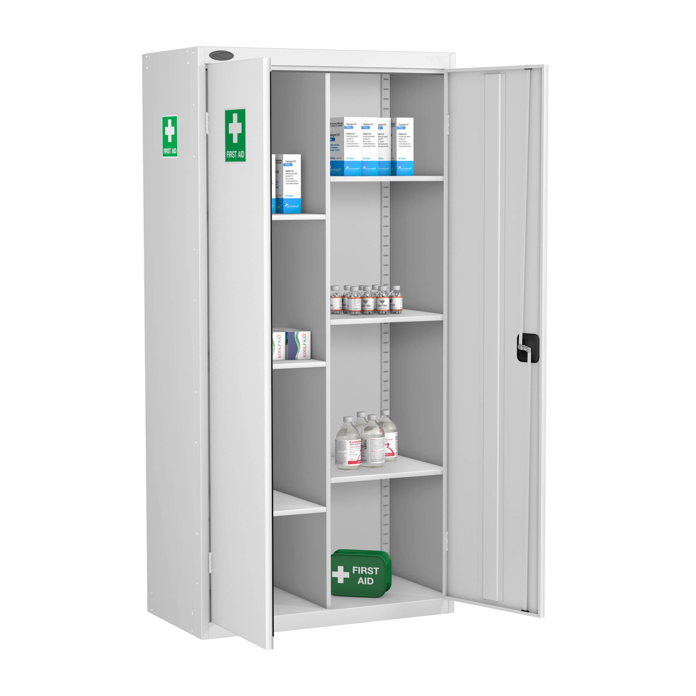 Шкаф для хранения стерильных растворов, медикаментов